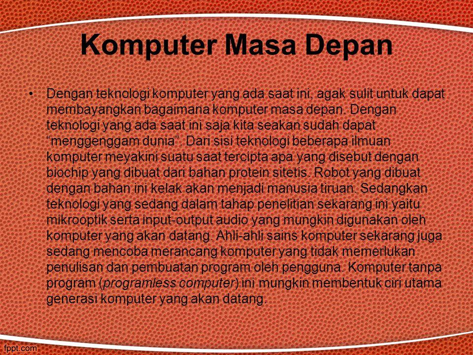 Komputer Masa Depan