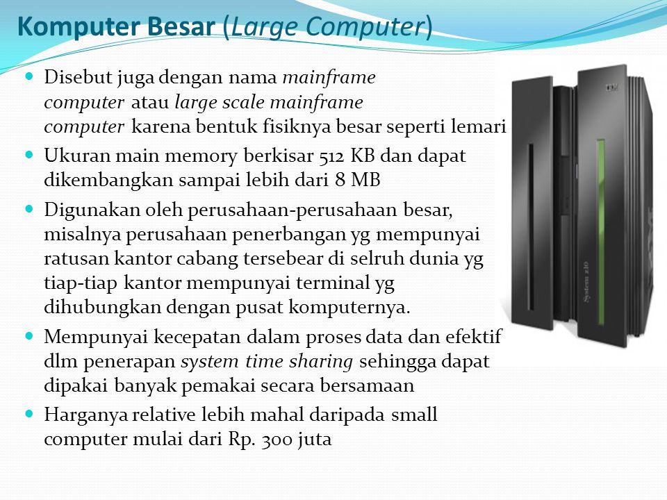 Komputer Besar (Large Computer)