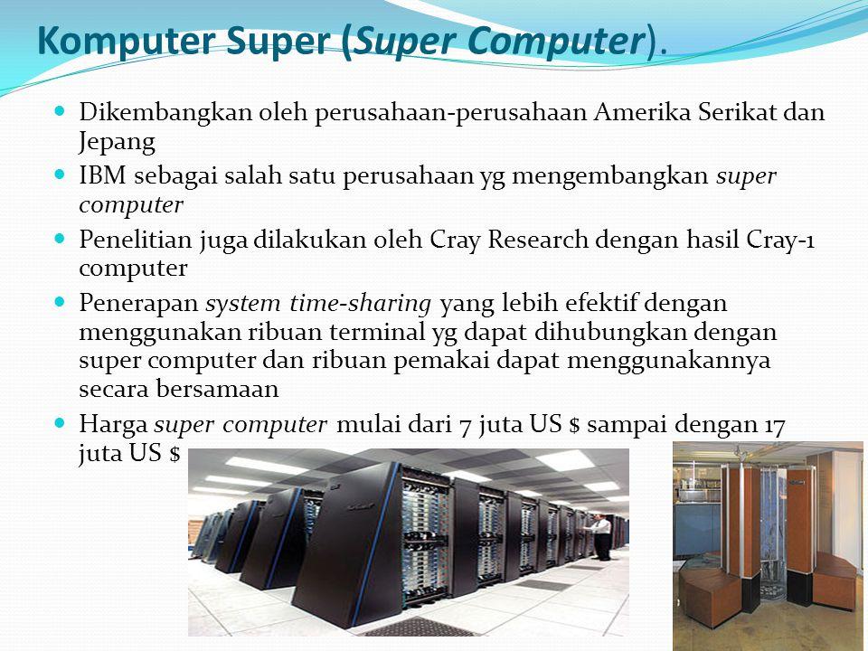 Komputer Super (Super Computer).