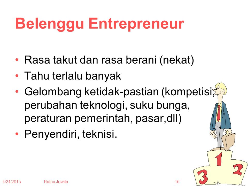 Belenggu Entrepreneur