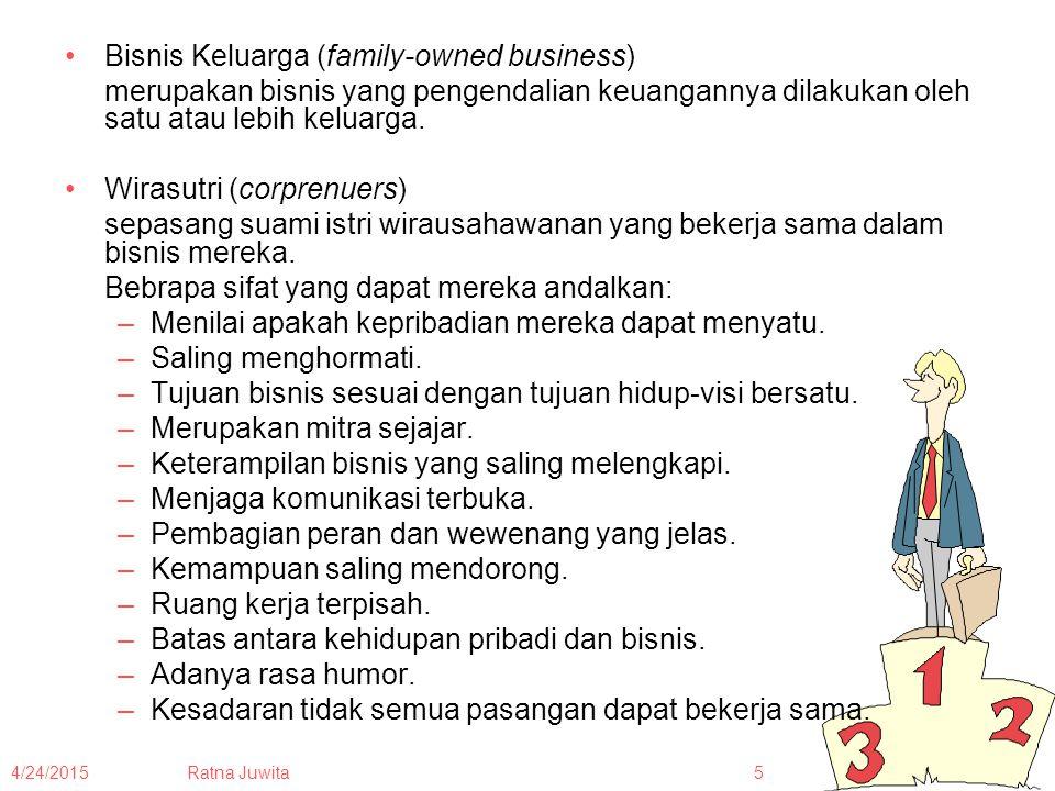 Bisnis Keluarga (family-owned business)