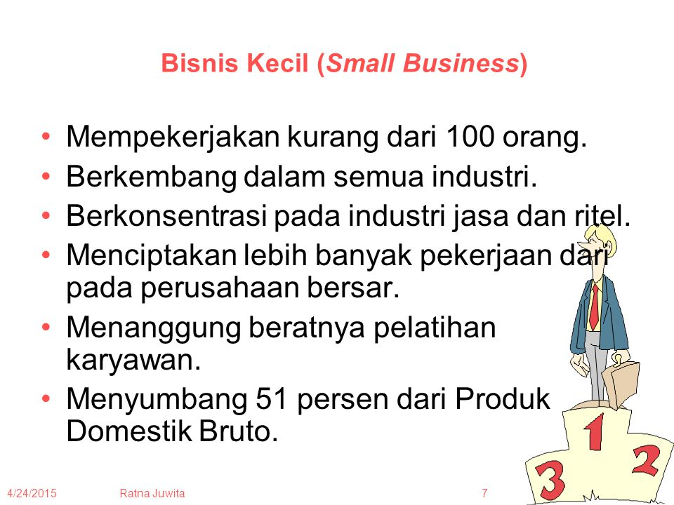 Bisnis Kecil (Small Business)