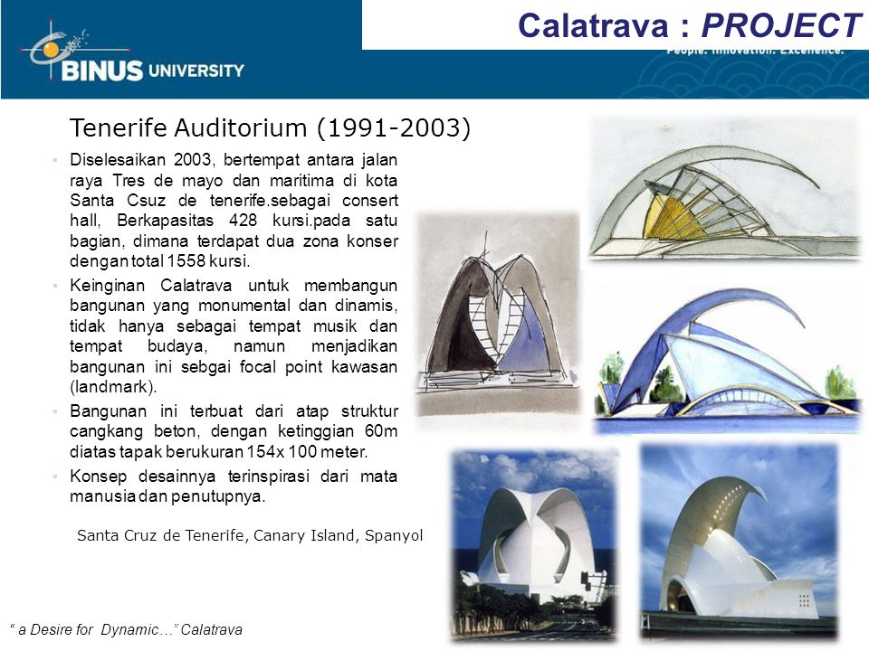 Calatrava : PROJECT Tenerife Auditorium (1991-2003)