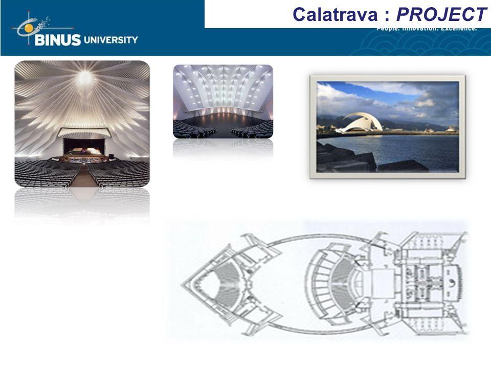 Calatrava : PROJECT