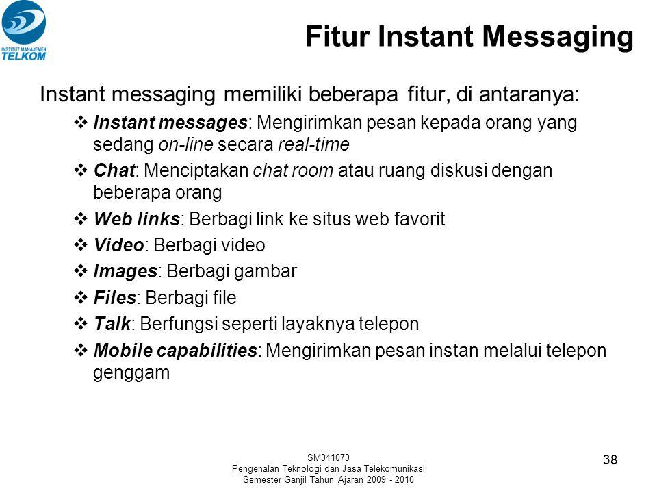 Fitur Instant Messaging
