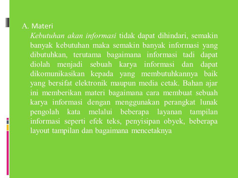 A. Materi