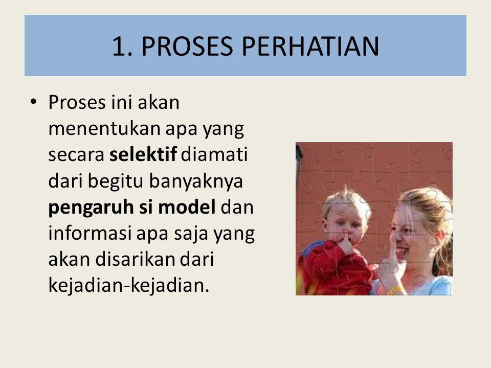 1. PROSES PERHATIAN