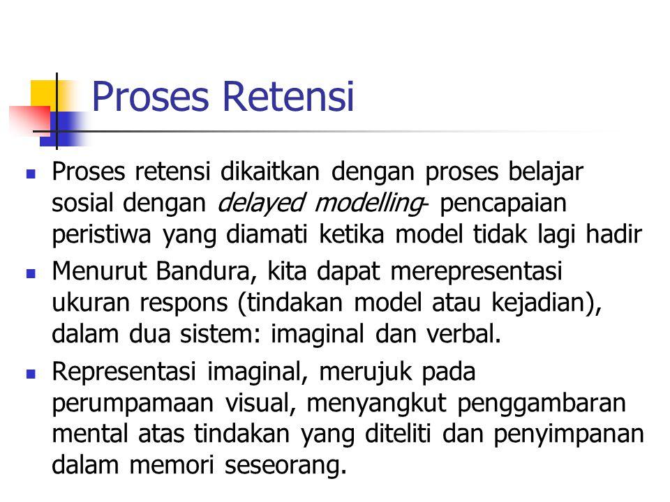 Proses Retensi