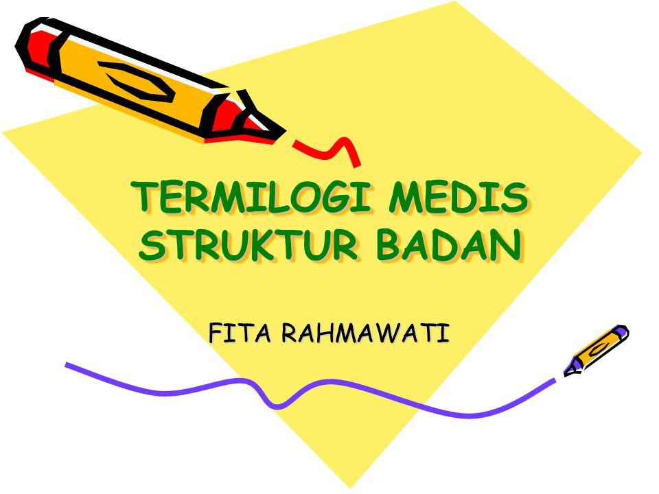 TERMILOGI MEDIS STRUKTUR BADAN