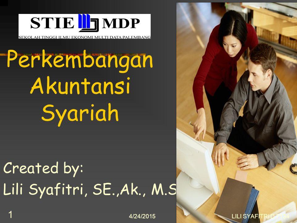 Perkembangan Akuntansi Syariah