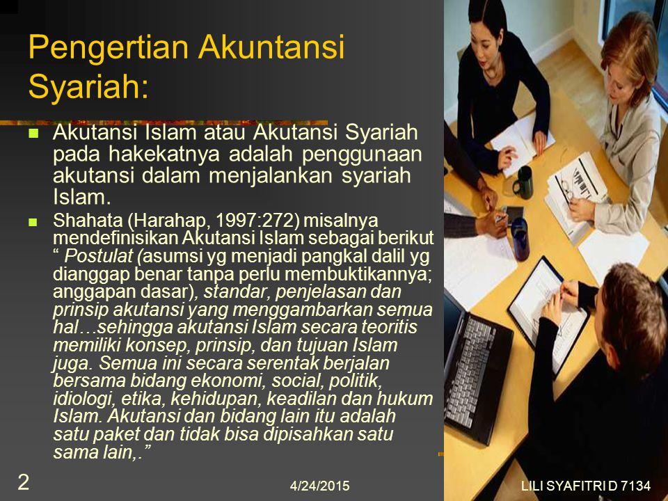 Pengertian Akuntansi Syariah: