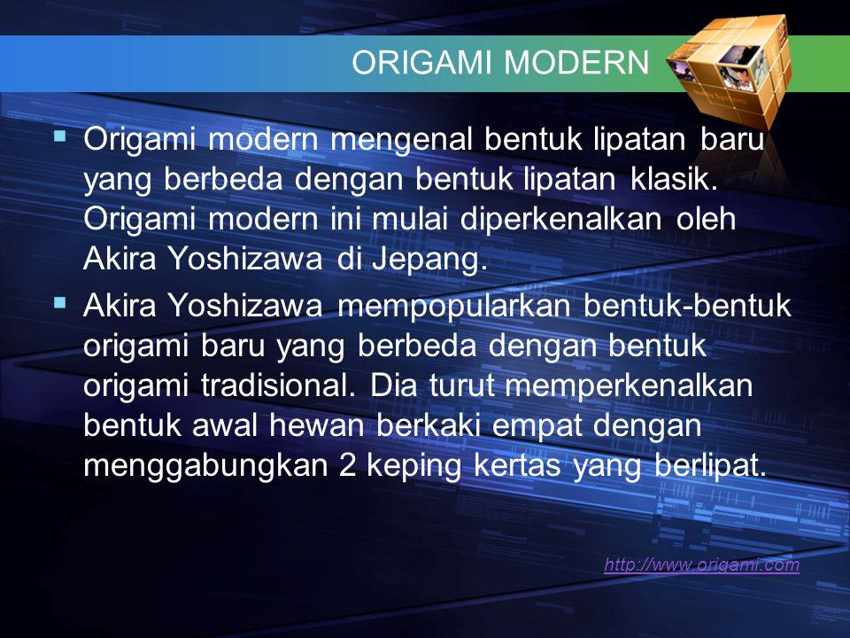 ORIGAMI MODERN