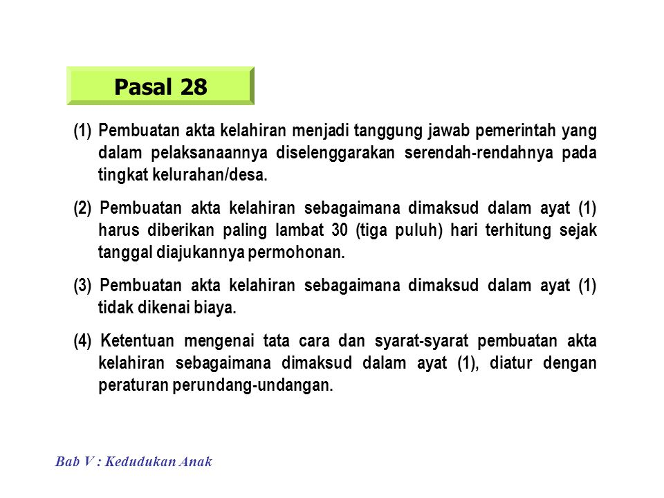 Pasal 28