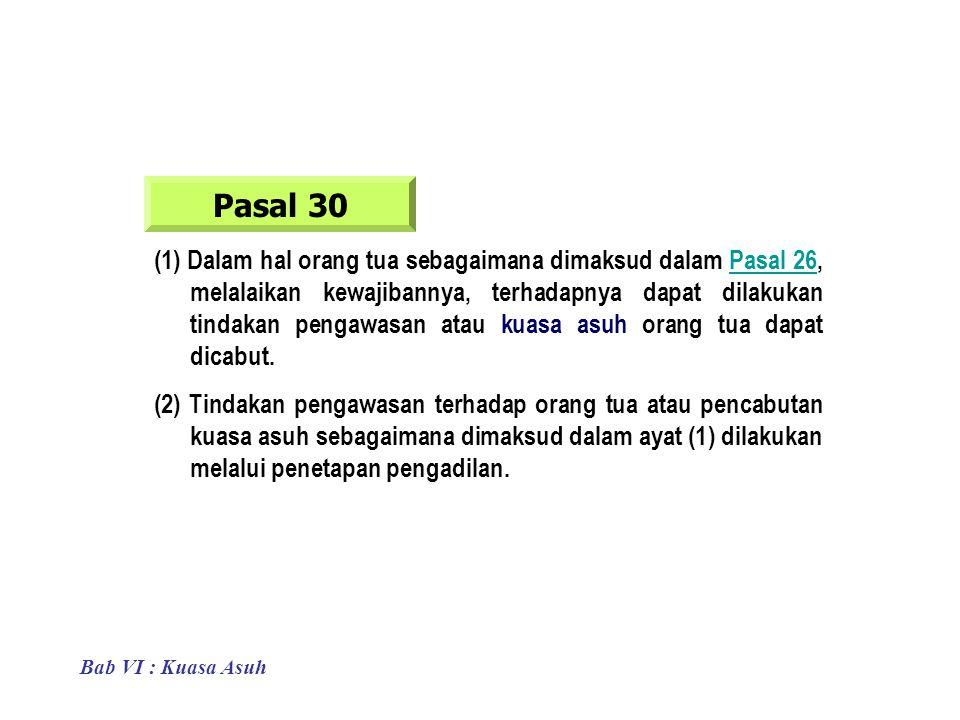 Pasal 30
