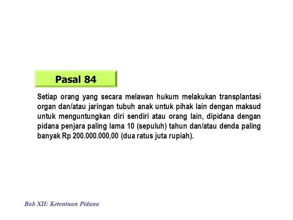 Pasal 84