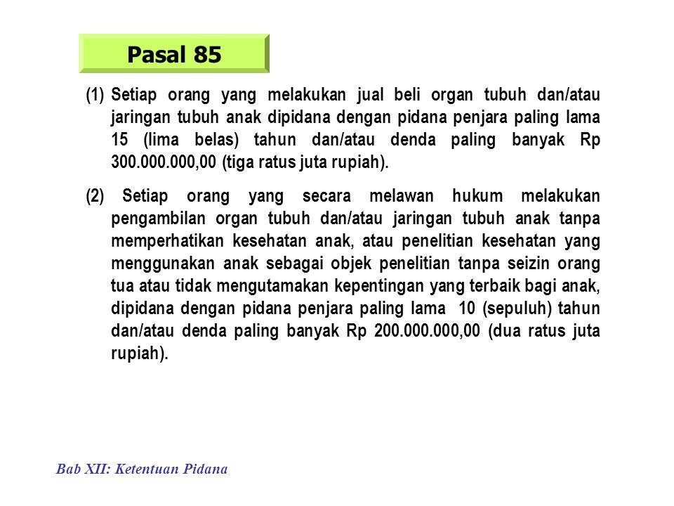 Pasal 85