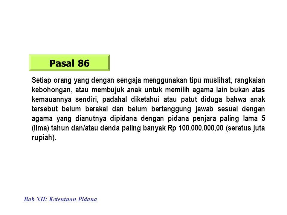 Pasal 86