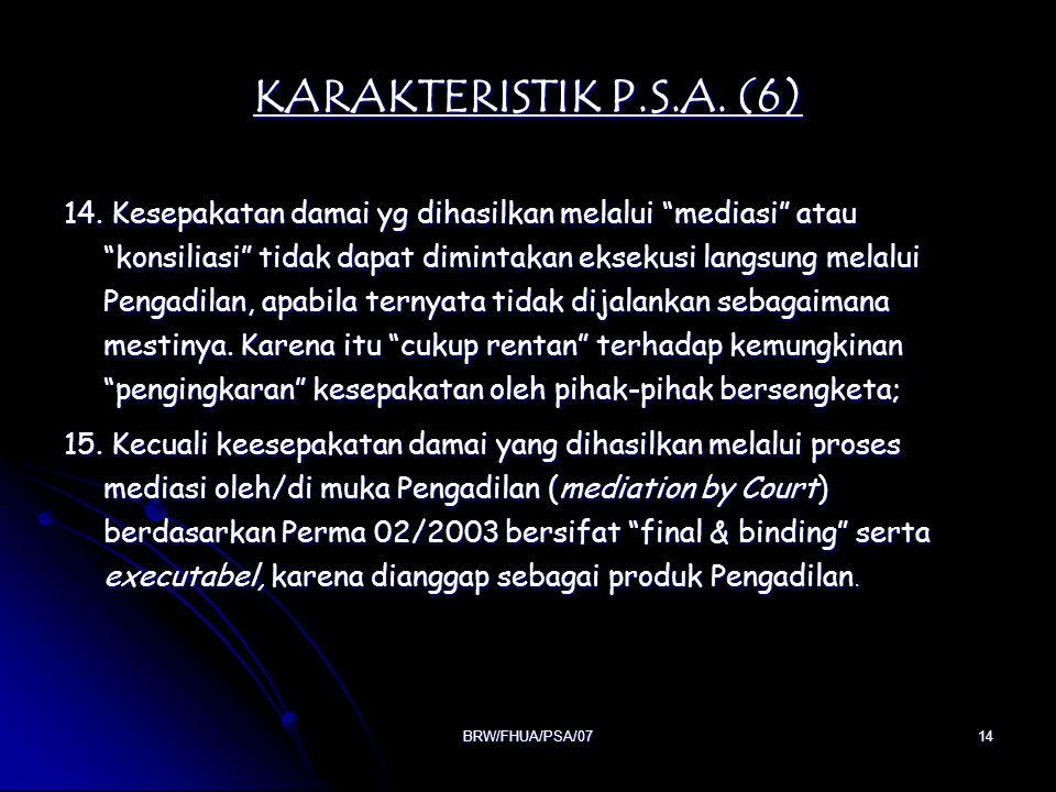 KARAKTERISTIK P.S.A. (6)