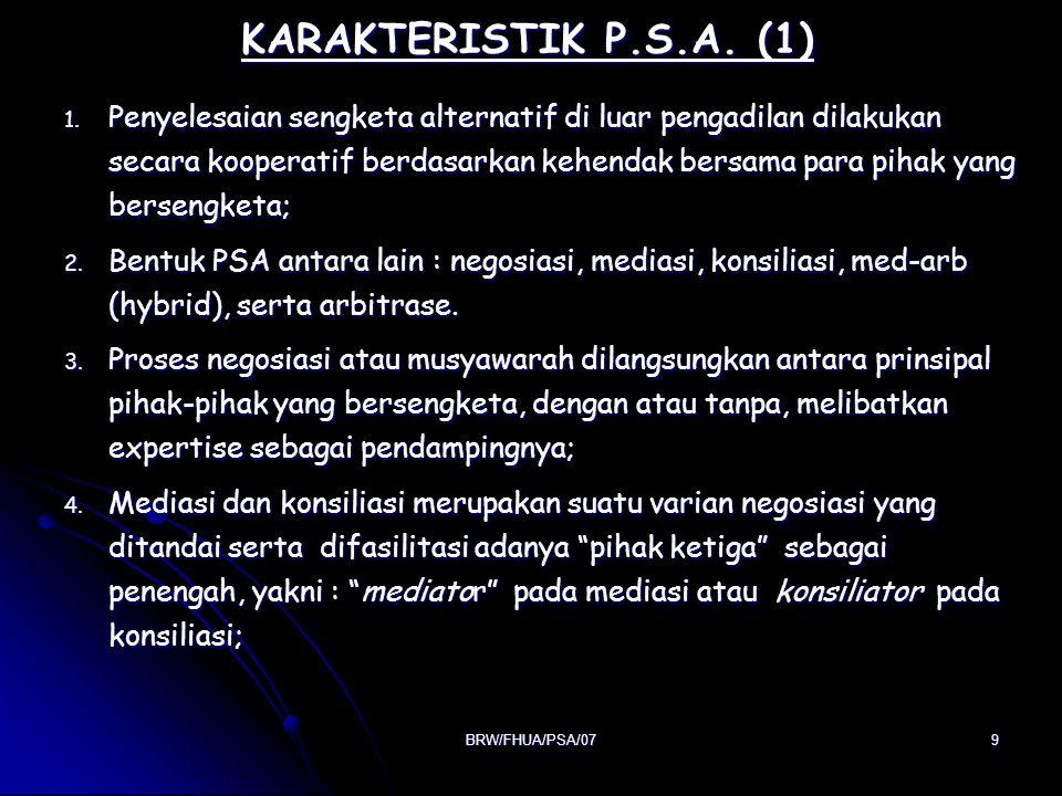 KARAKTERISTIK P.S.A. (1)