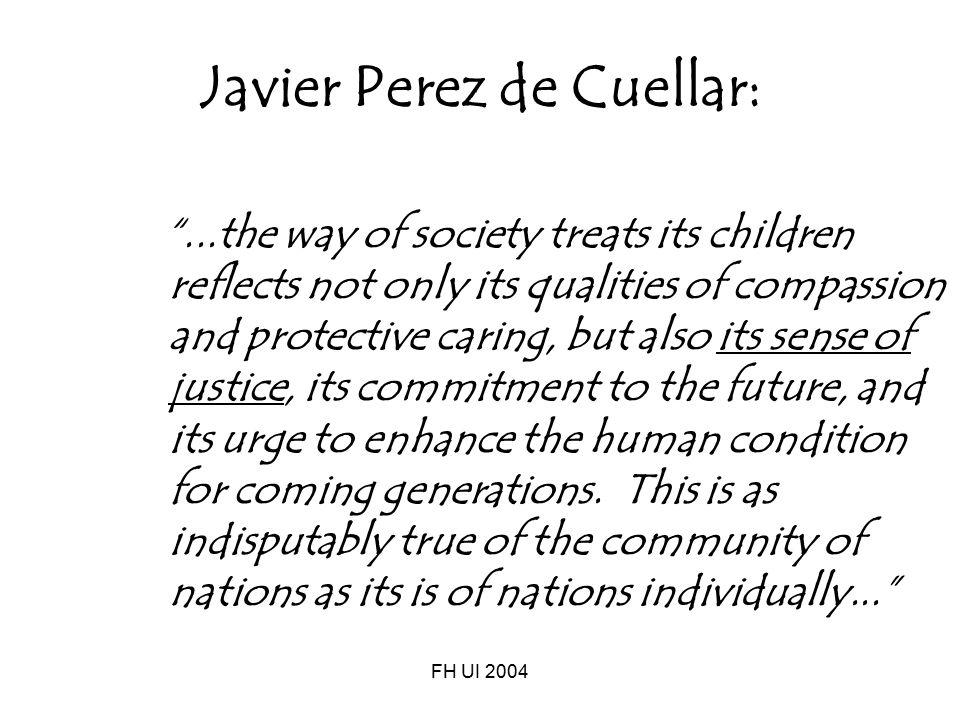 Javier Perez de Cuellar: