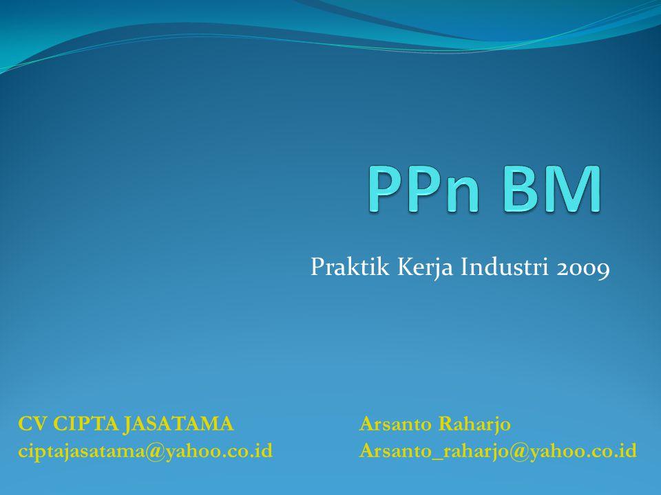 Praktik Kerja Industri 2009