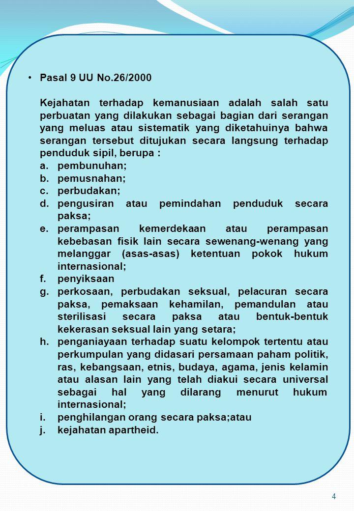 Pasal 9 UU No.26/2000