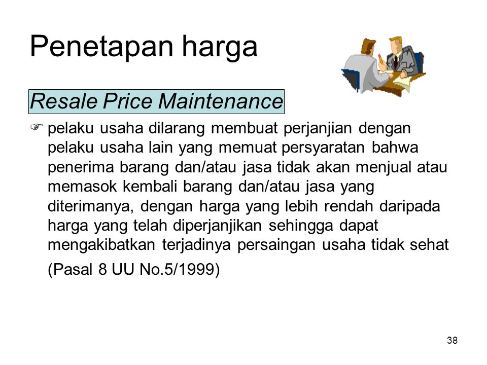 Penetapan harga Resale Price Maintenance
