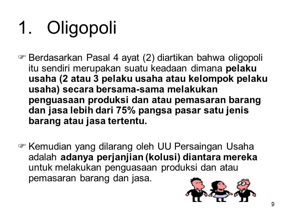 1. Oligopoli