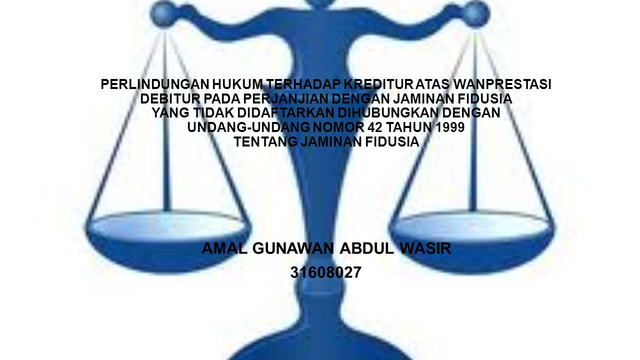 AMAL GUNAWAN ABDUL WASIR 31608027