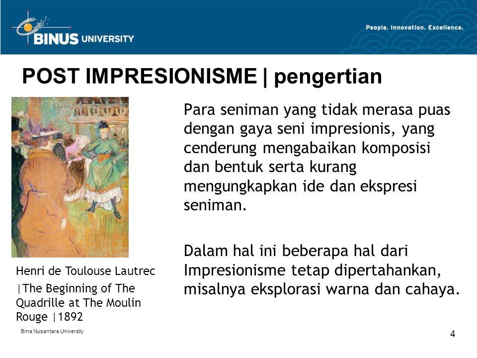 POST IMPRESIONISME | pengertian