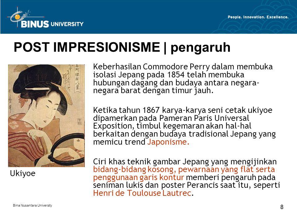 POST IMPRESIONISME | pengaruh