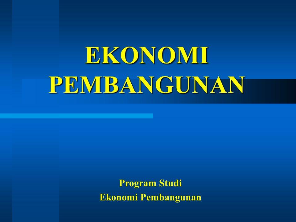 Program Studi Ekonomi Pembangunan
