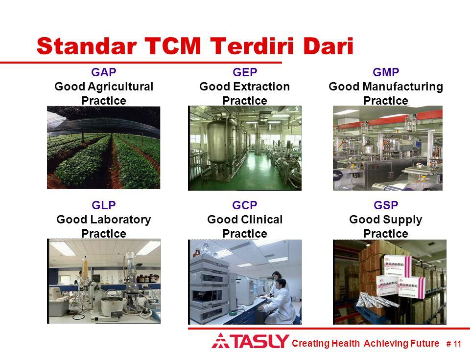 Standar TCM Terdiri Dari