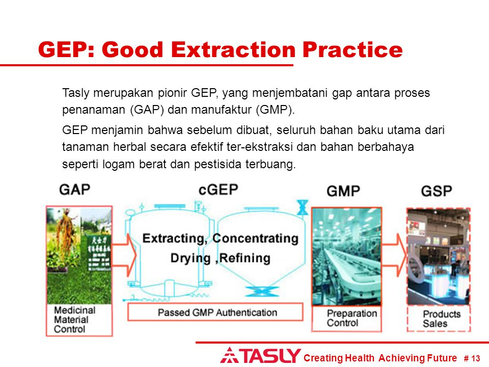 GEP: Good Extraction Practice