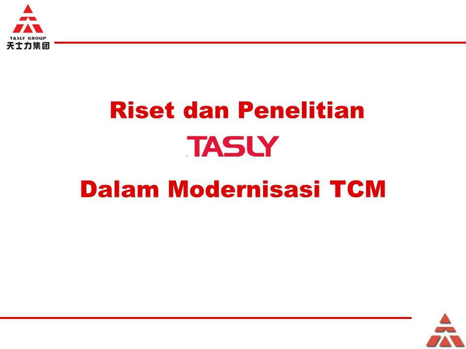 Riset dan Penelitian Dalam Modernisasi TCM