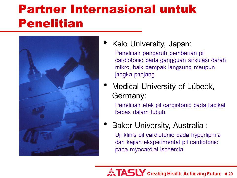 Partner Internasional untuk Penelitian