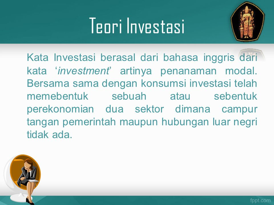 Teori Investasi