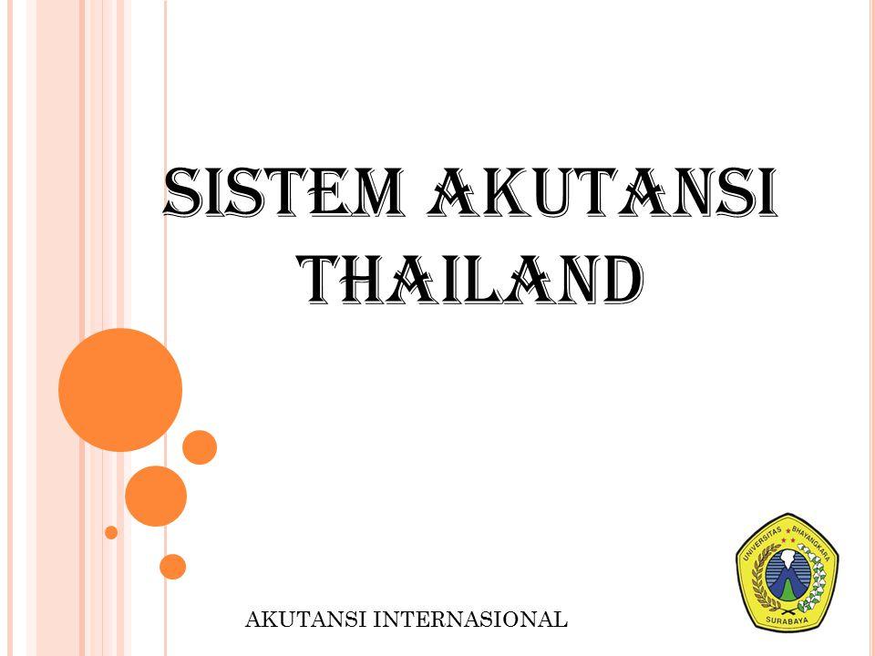 SISTEM AKUTANSI THAILAND