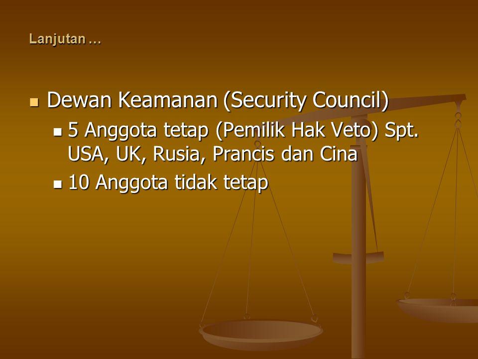 Dewan Keamanan (Security Council)