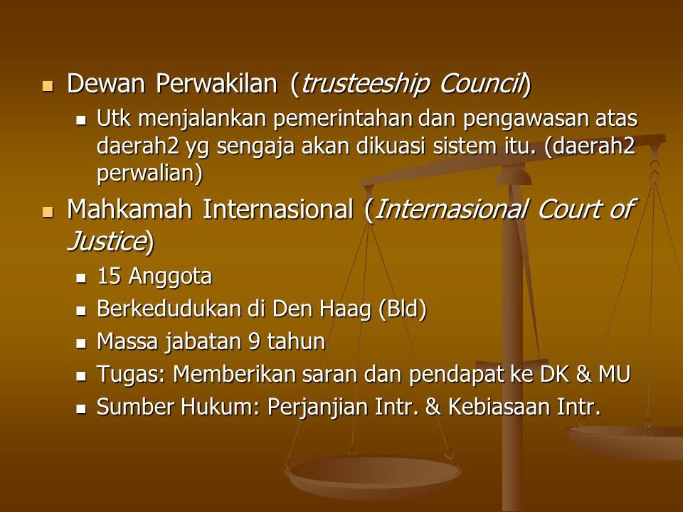 Dewan Perwakilan (trusteeship Council)