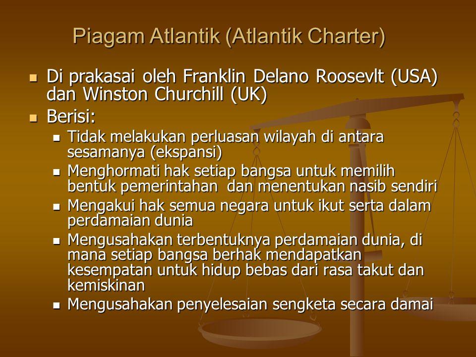 Piagam Atlantik (Atlantik Charter)