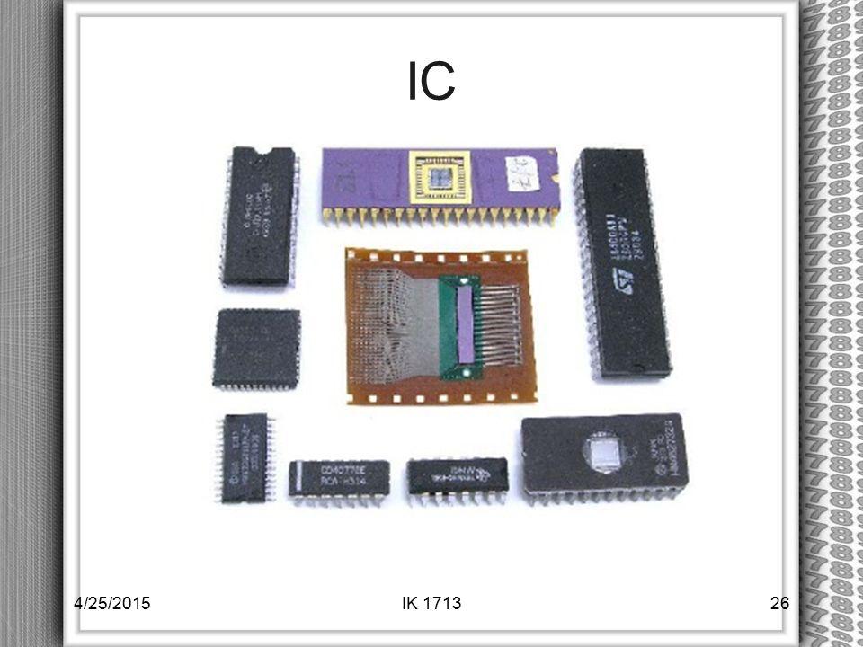 IC 4/14/2017 IK 1713