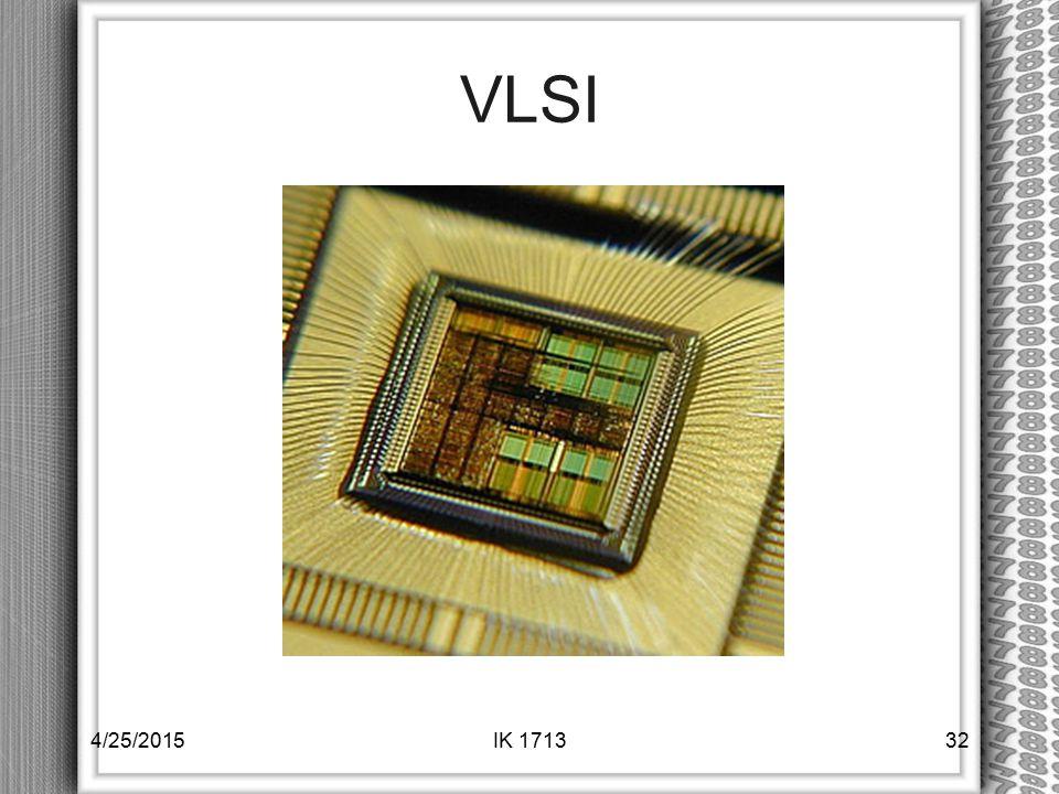 VLSI 4/14/2017 IK 1713