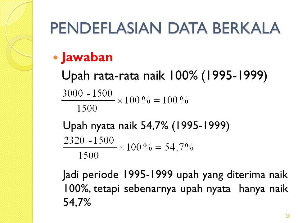 PENDEFLASIAN DATA BERKALA