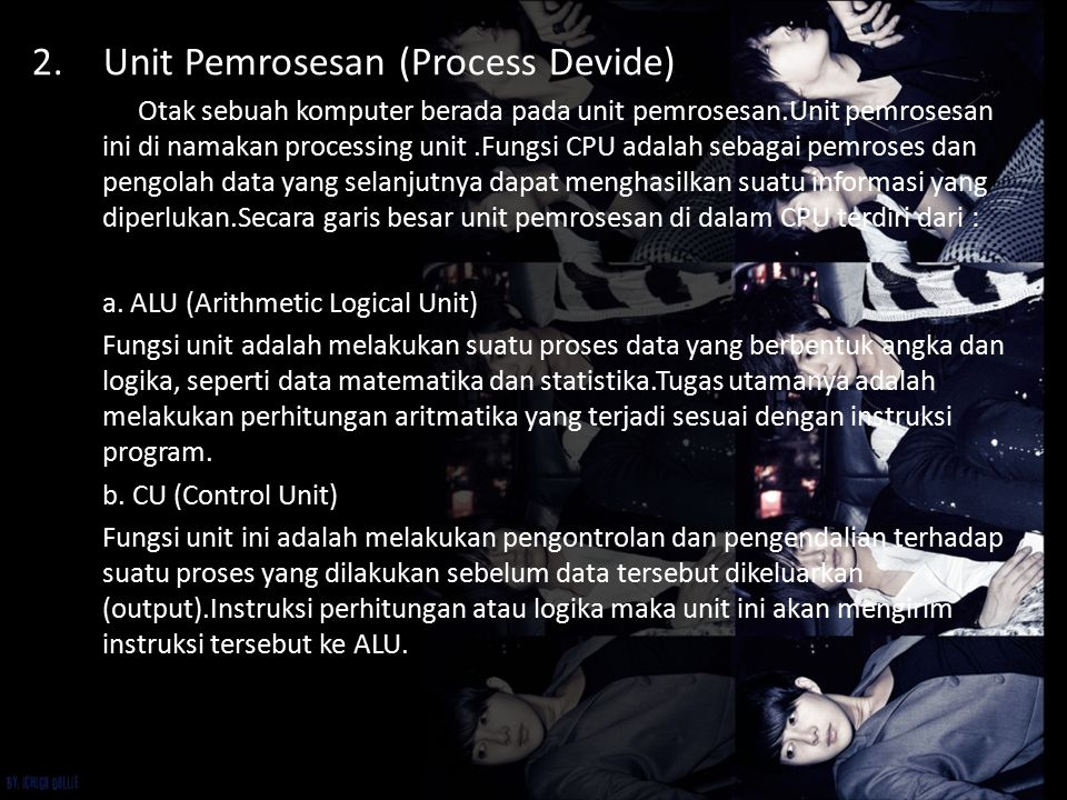 Unit Pemrosesan (Process Devide)