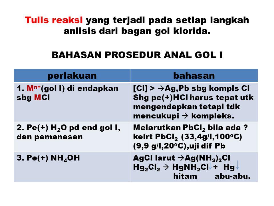BAHASAN PROSEDUR ANAL GOL I