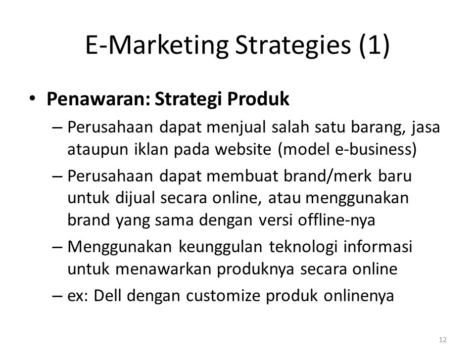 E-Marketing Strategies (1)