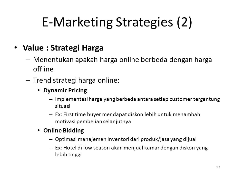 E-Marketing Strategies (2)