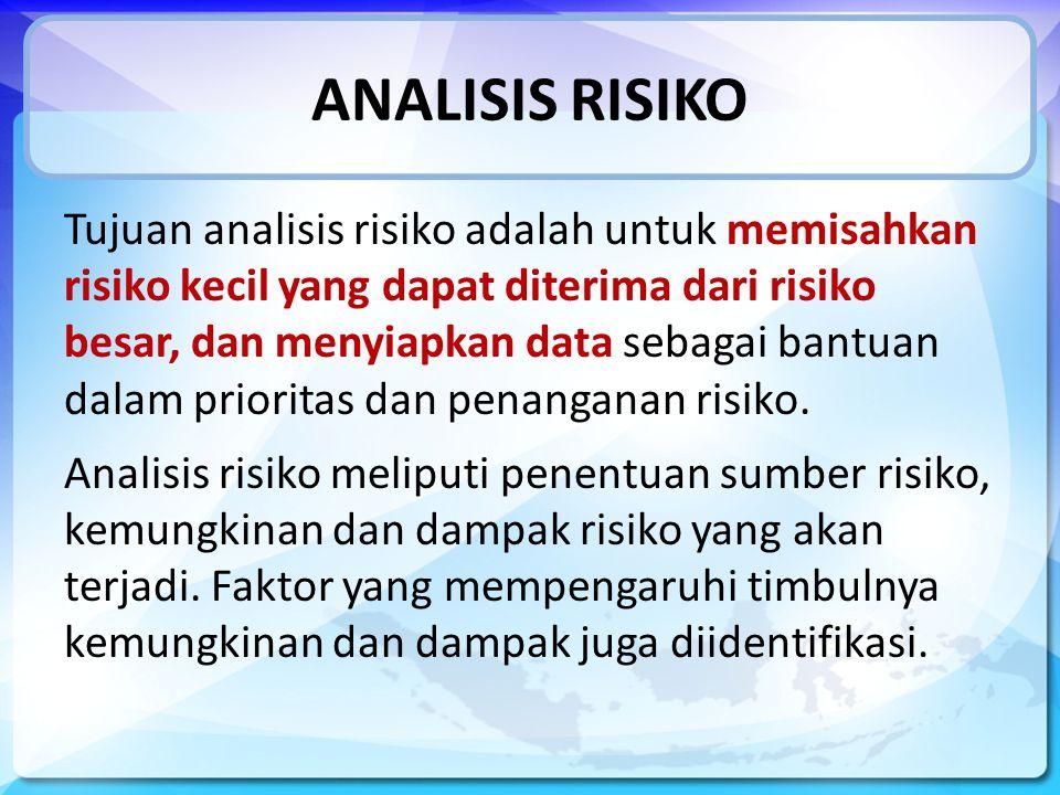 ANALISIS RISIKO