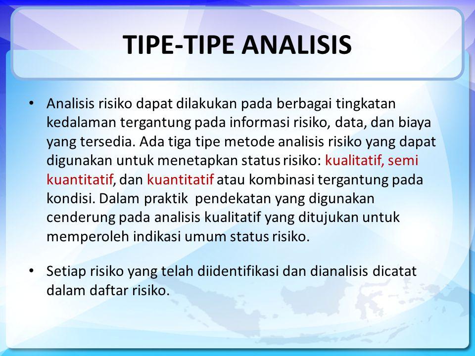 TIPE-TIPE ANALISIS